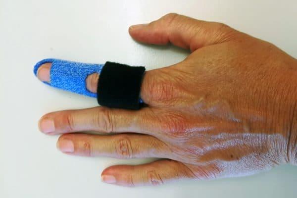 Handtherapie München, Ringband-Schiene